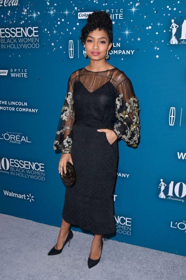 Yara Shahidi Essence Black Women In Hollywood Awards Los Angeles 2 23 2017