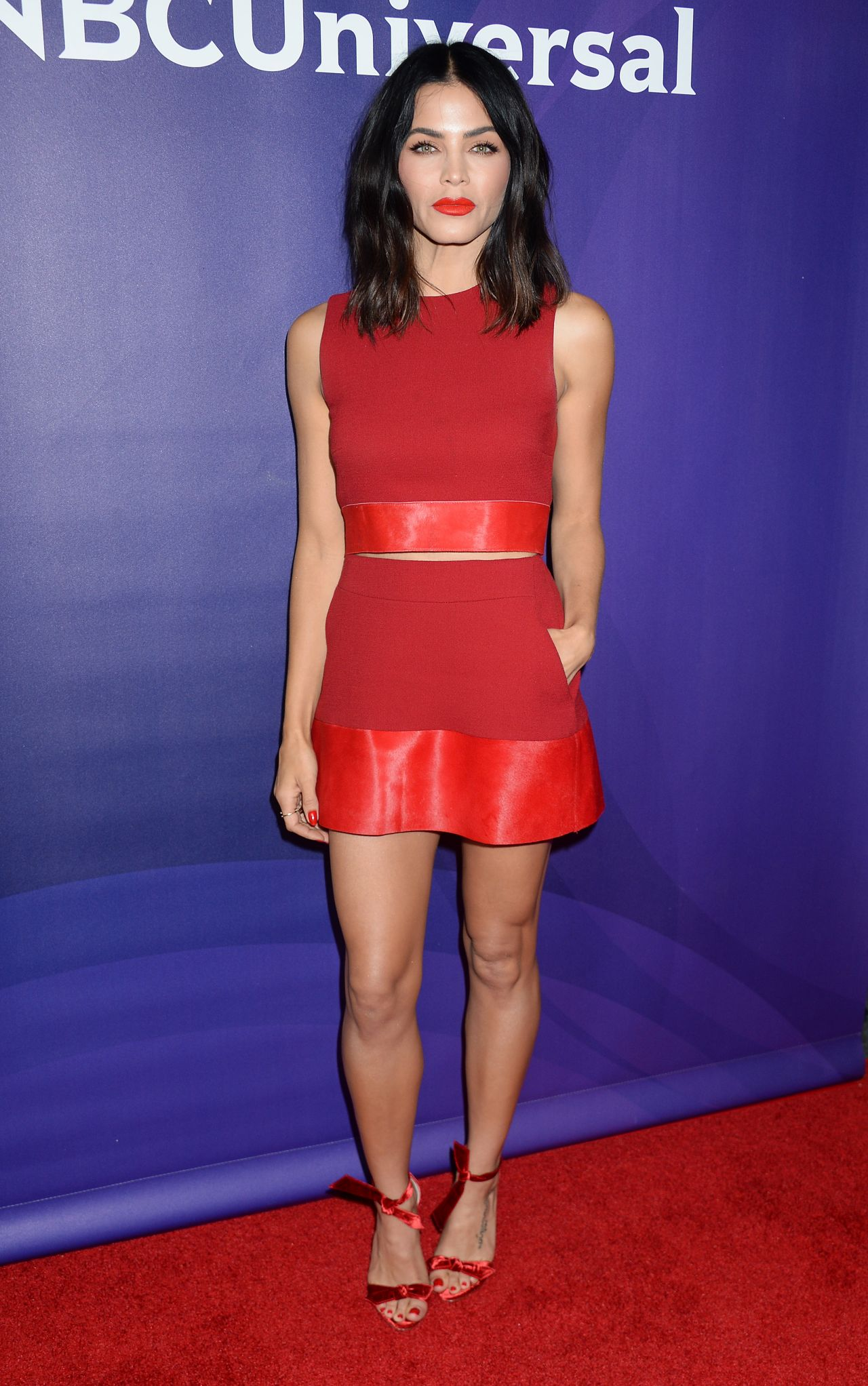 Jenna Dewan Tatum NBCUniversal Summer Press Day In