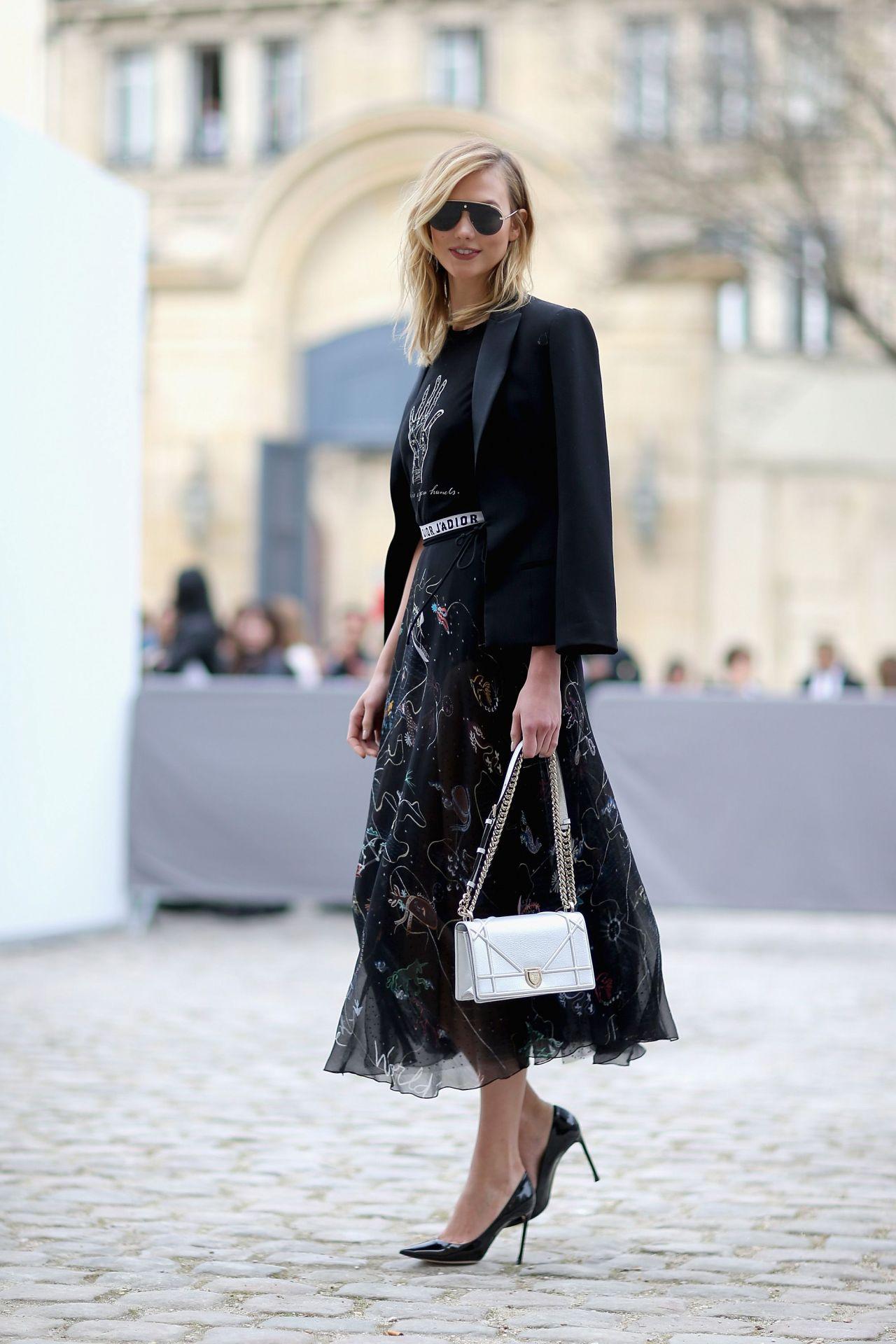 Fall Daisy Wallpaper Karlie Kloss At Paris Fashion Week Christian Dior Show 3