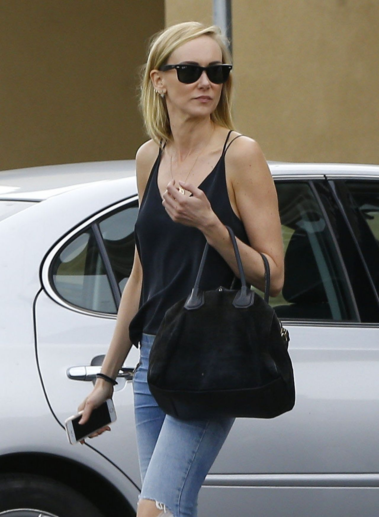 Kimberly Stewart  Grocery Shopping at Gelsons Market in Studio City 310 2017