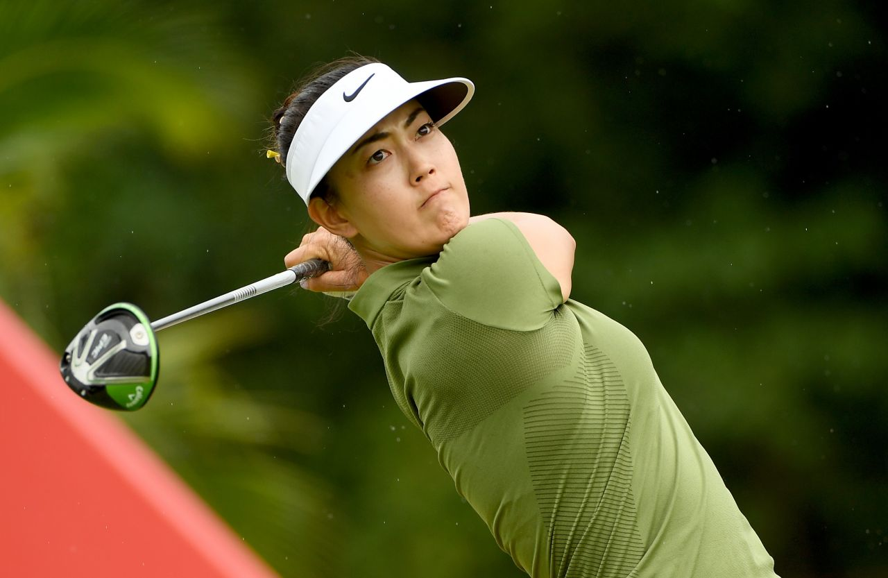 Michelle Wie HSBC Womens Champions Round Four In