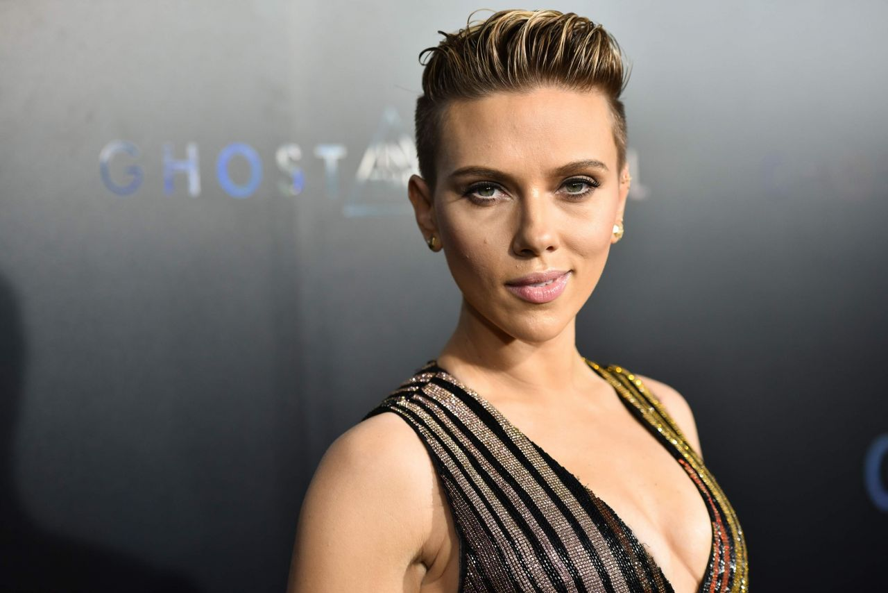 Scarlett Johansson Ghost In The Shell Premiere In NYC