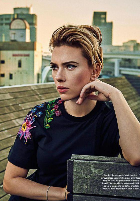 Scarlett Johansson - Io Donna del Corriere Della Sera, March 2017 Issue
