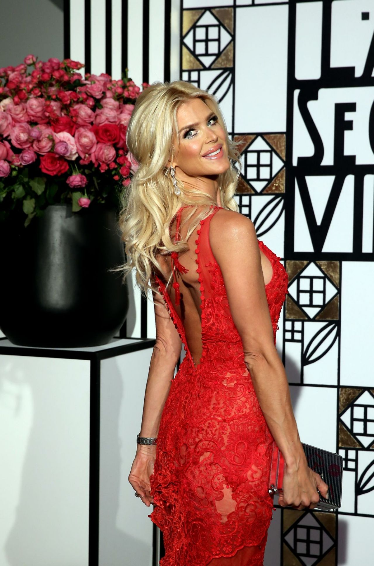 Victoria Silvstedt  Rose Ball in Monte Carlo 318 2017