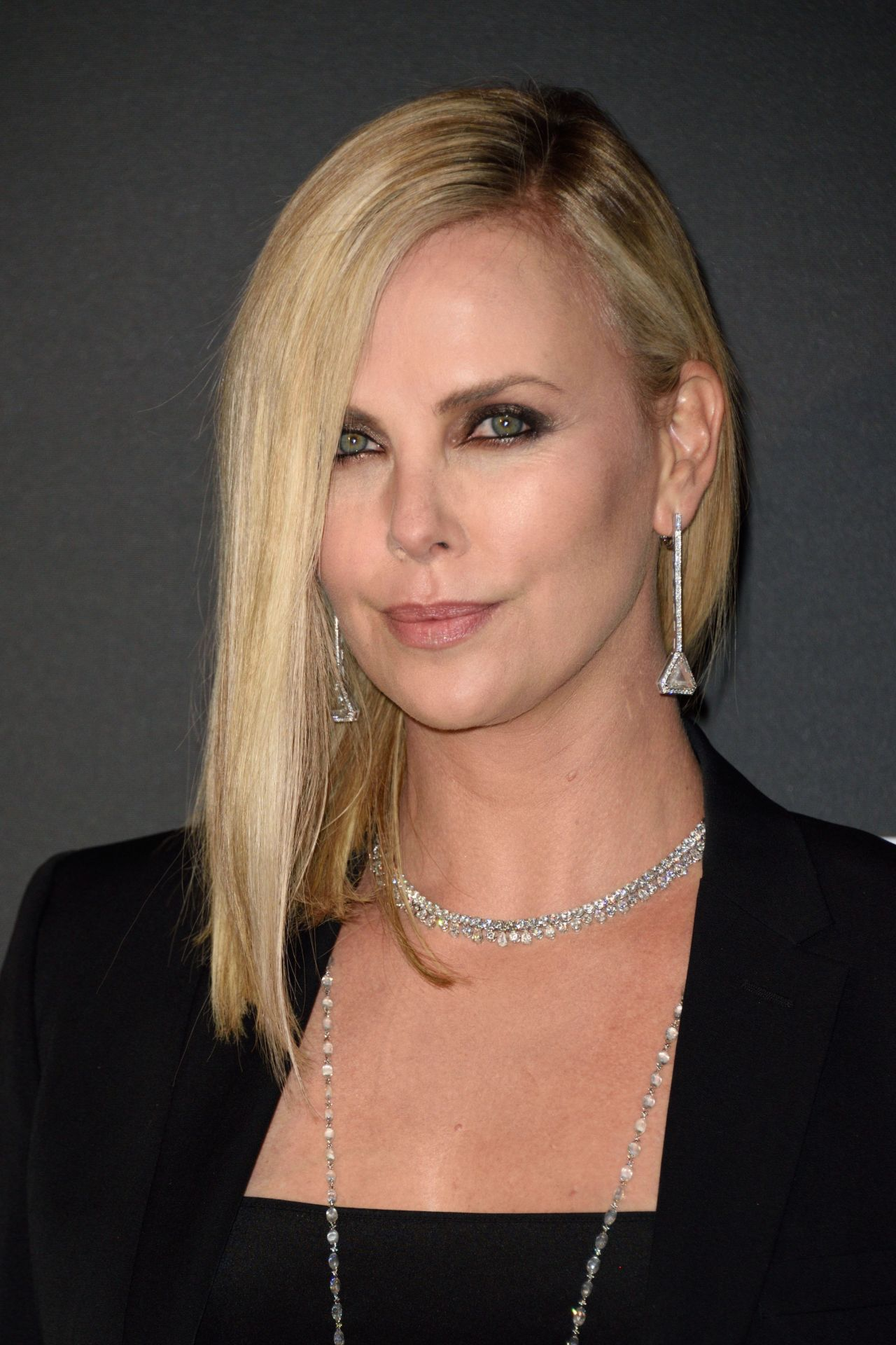 Charlize Theron On Red Carpet The Fate Of The Furious