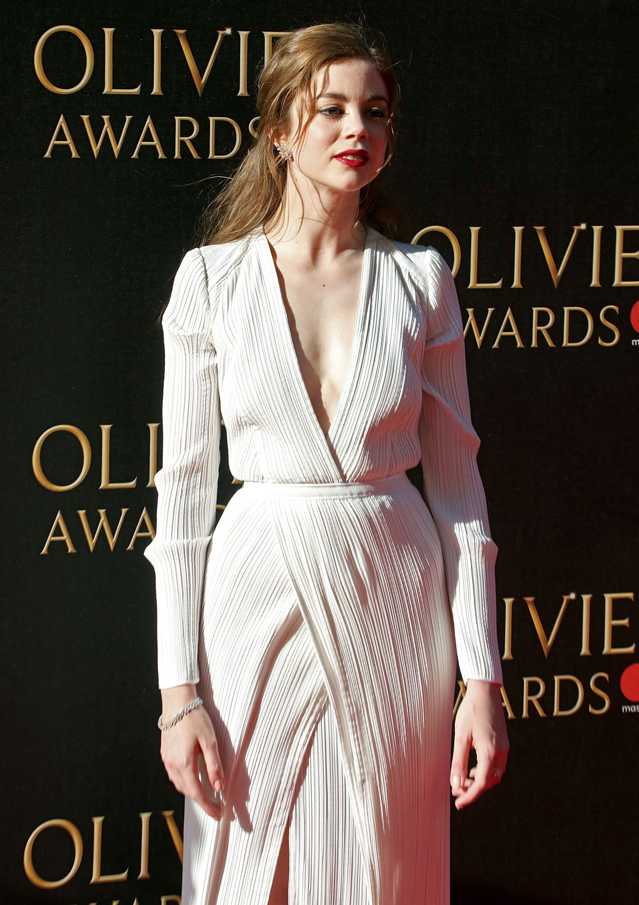 Charlotte Hope  Olivier Awards 2017 in London