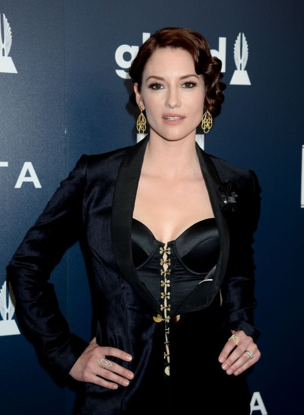 Chyler Leigh Red Carpet - Glaad Media Awards In Los Angeles 4 1 2017