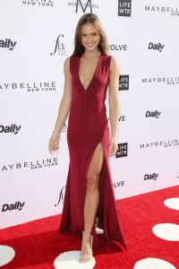 Helen Owen on Red Carpet at Daily Front Rows Fashion Los
