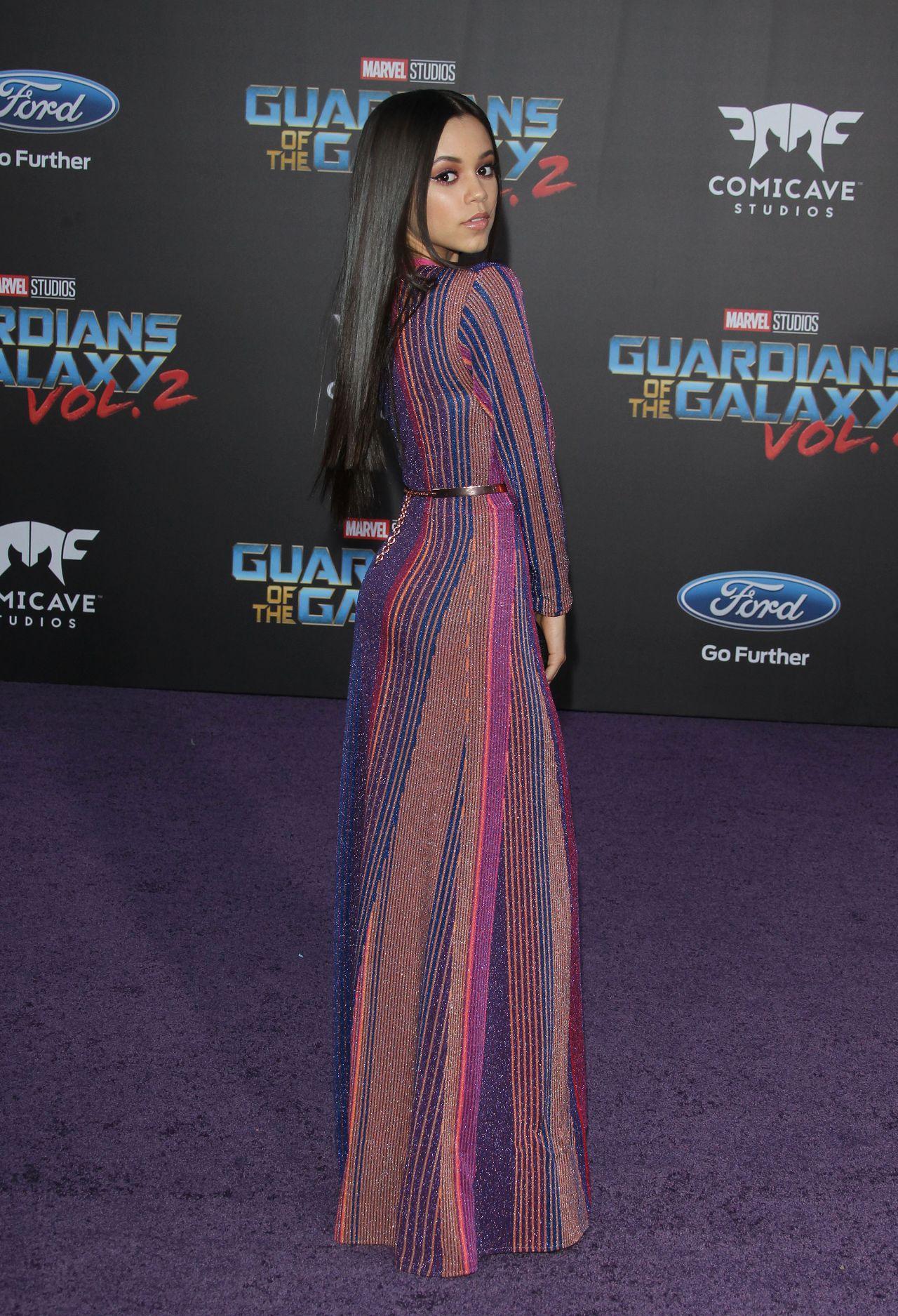 Jenna Ortega  Guardians of the Galaxy Vol 2 Premiere in Los Angeles