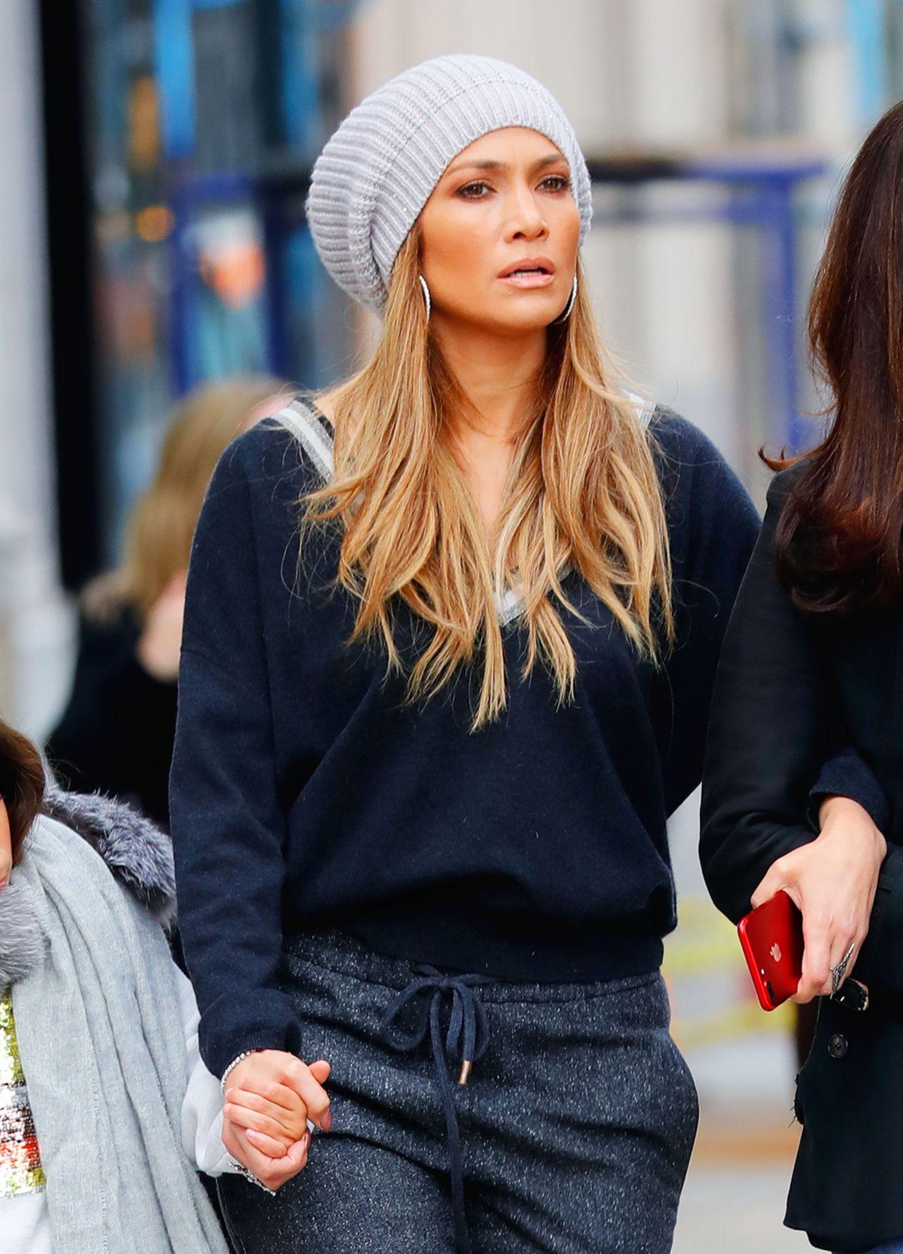 Jennifer Lopez in Casual Attire  New York 04222017