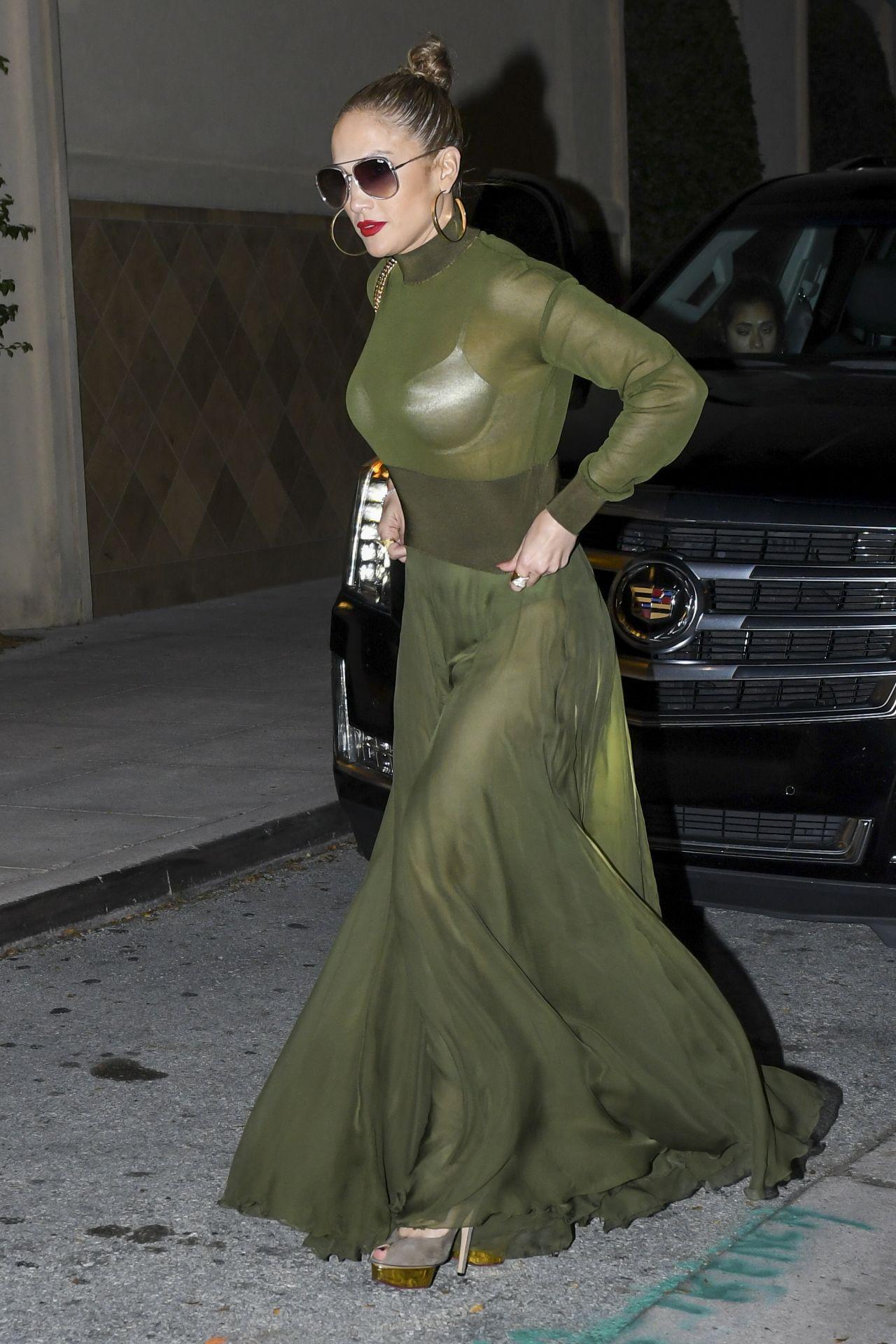 Jennifer Lopez Night Out Style  Miami April 2017