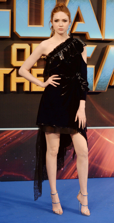 Karen Gillan at Guardians of the Galaxy Vol2 Premiere in London UK 04242017