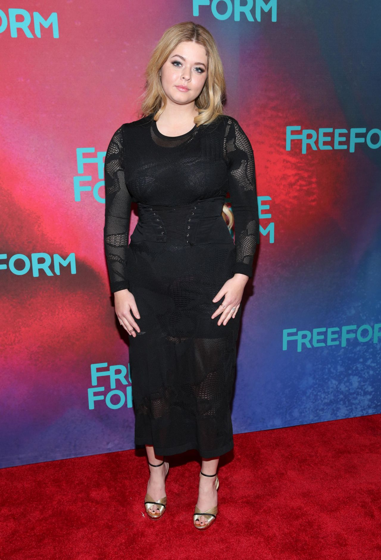 Sasha Pieterse At Freeform Upfront In New York 4192017