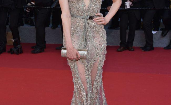 Barbara Meier 70th Annual Cannes Film Festival In Cannes