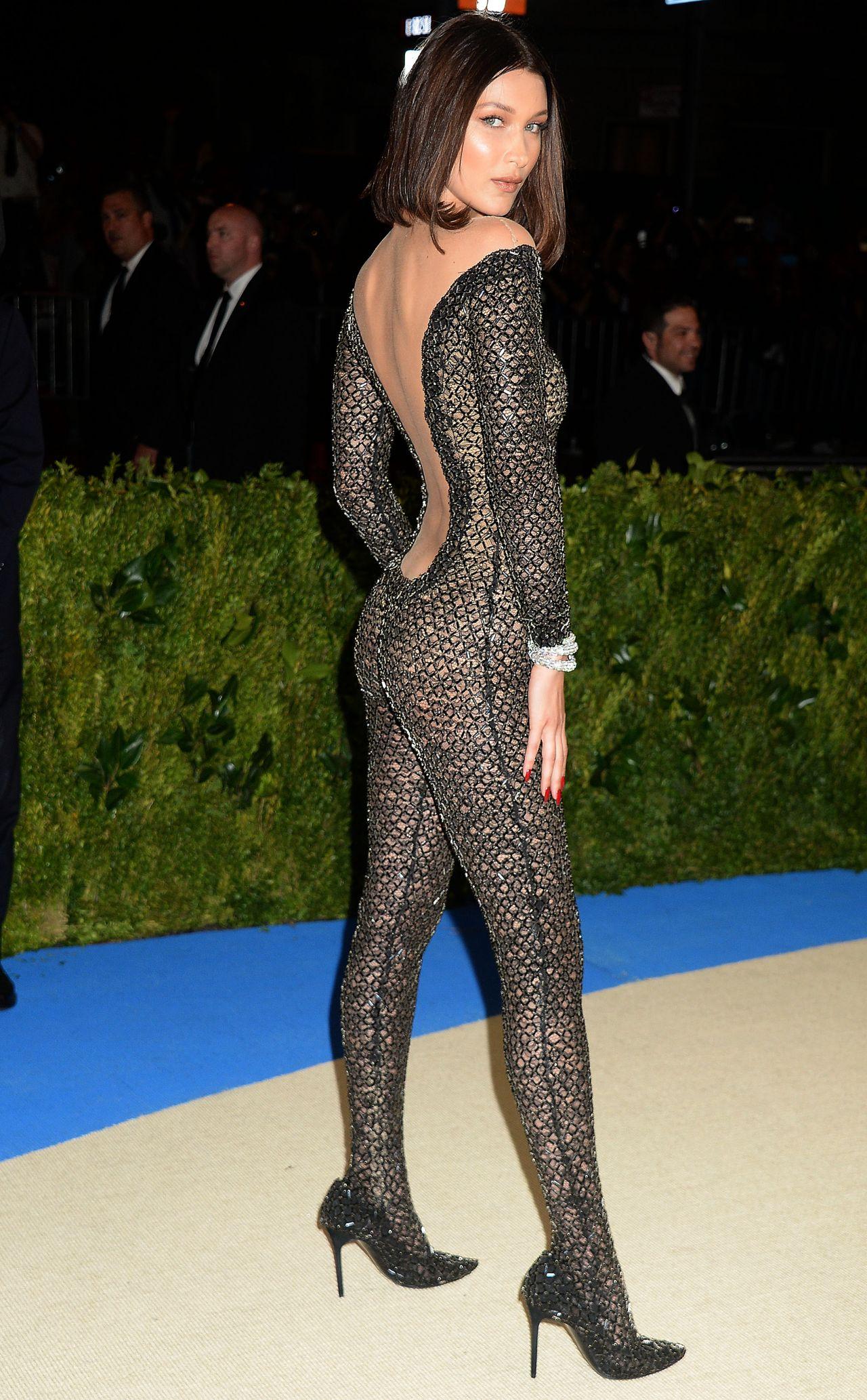 Bella Hadid at MET Gala in New York 05012017