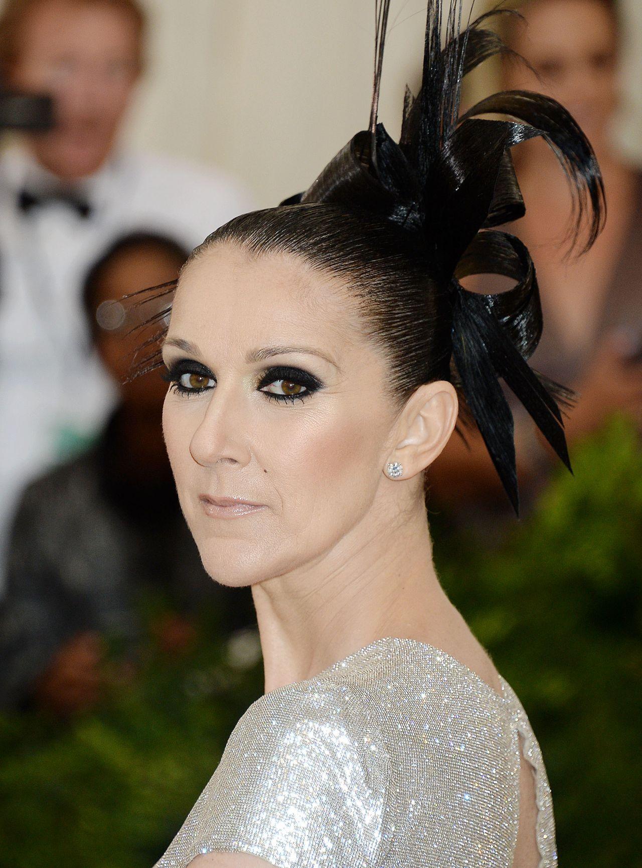 Celine Dion At MET Gala In New York 05012017