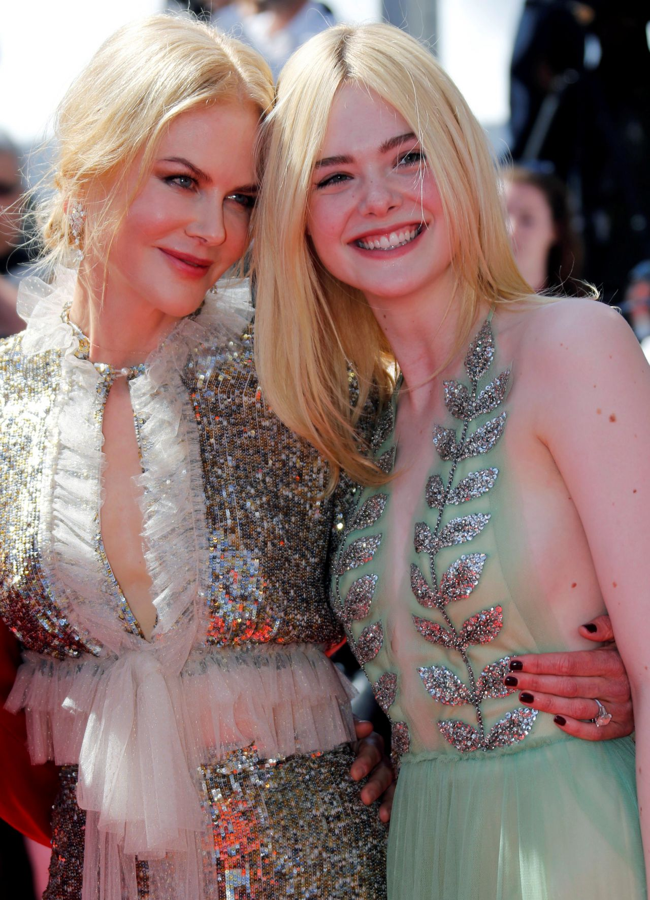 Elle Fanning  How to Talk to Girls at Parties Premiere in Cannes 05212017