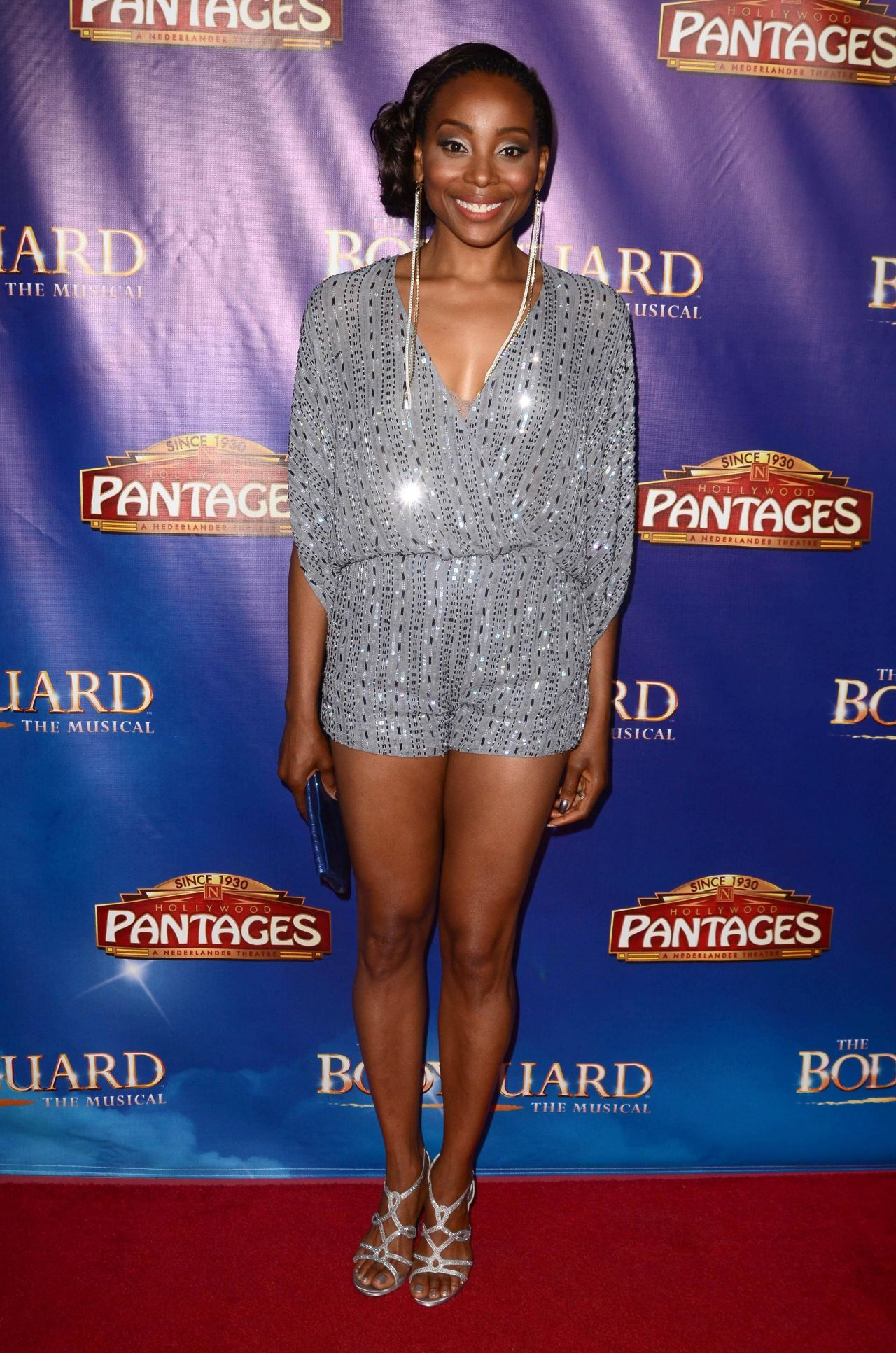 Erica Ash  The Bodyguard Opening Night in Los Angeles