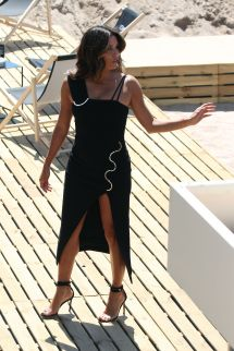 Eva Longoria Martinez Hotel Beach In Cannes France 05