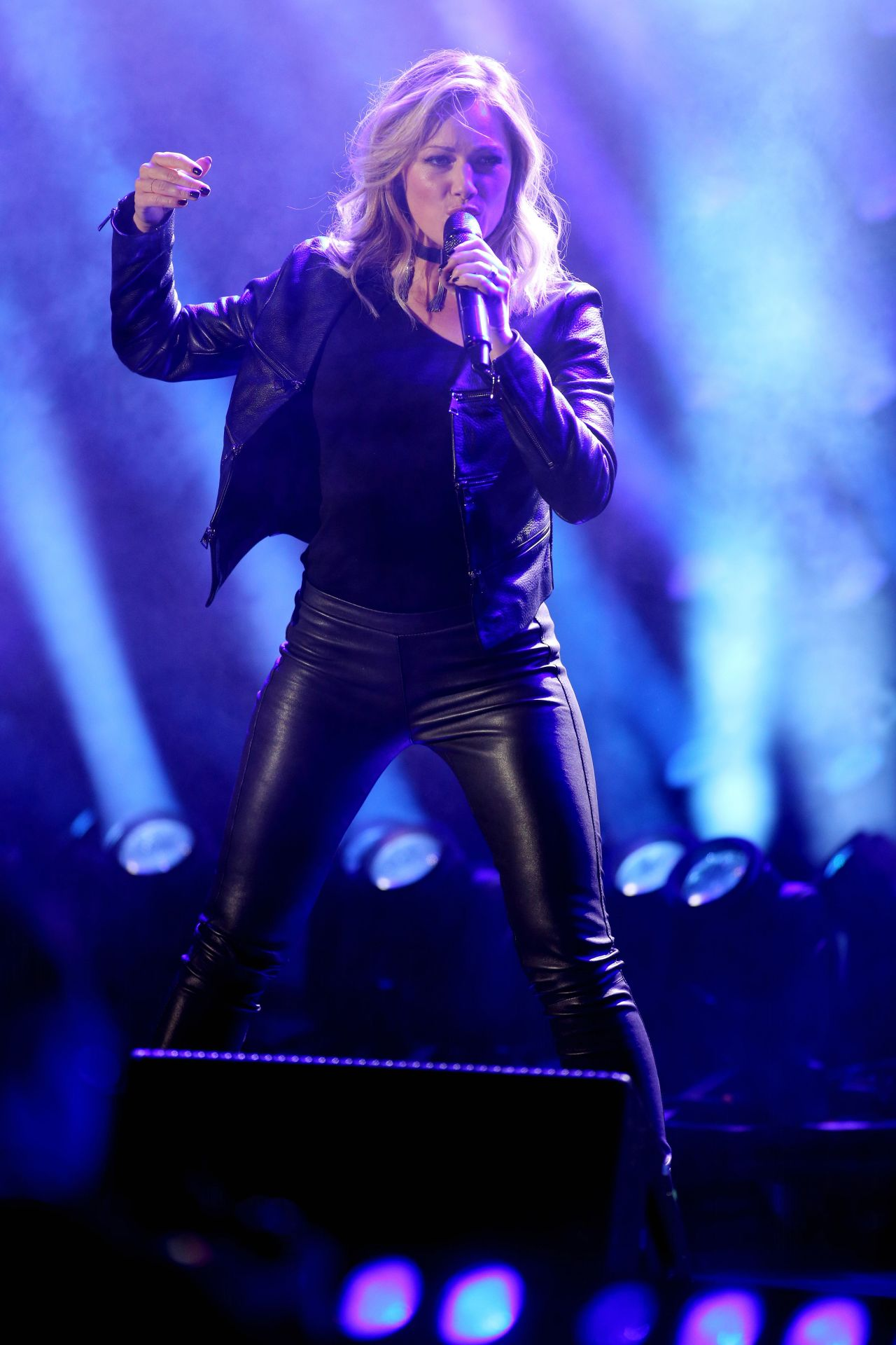Helene Fischer Performs at Eurovision Song Contest Party