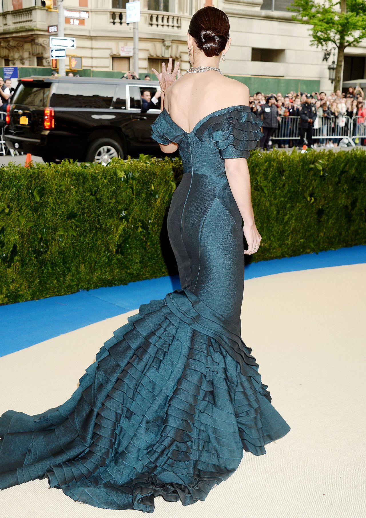 Katie Holmes  MET Gala in New York 05012017