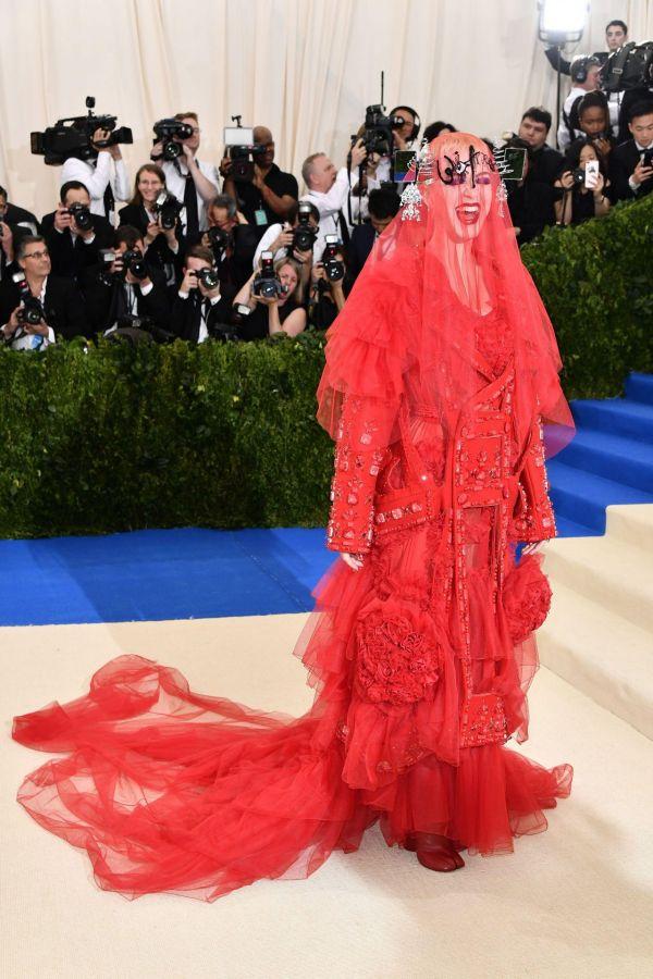 Katy Perry Met Gala Metropolitan Museum Of Art In