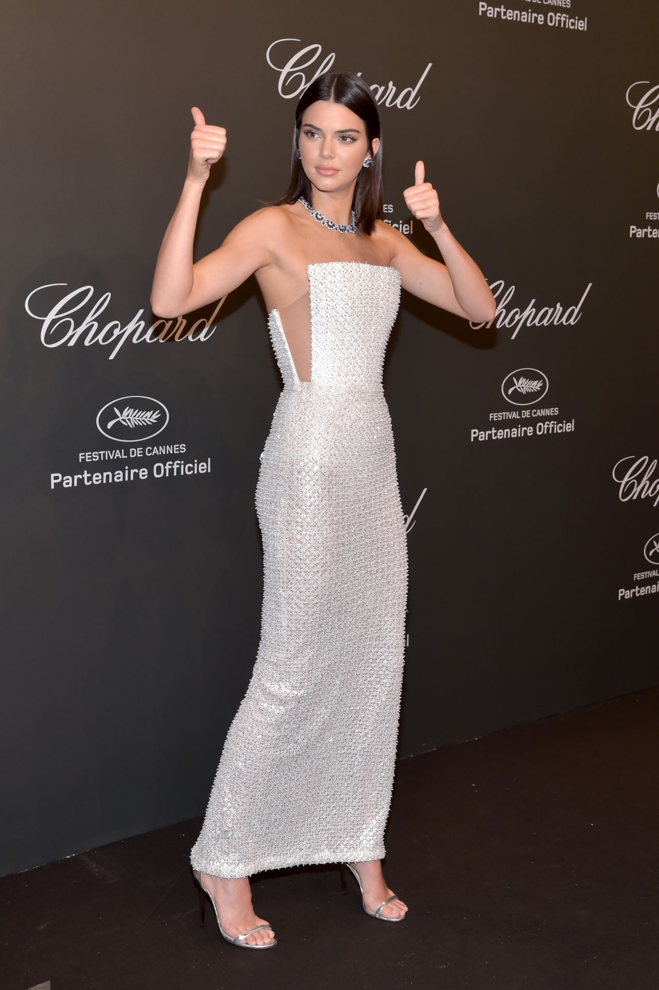 Kendall Jenner at Chopard Space Party in Cannes France 05