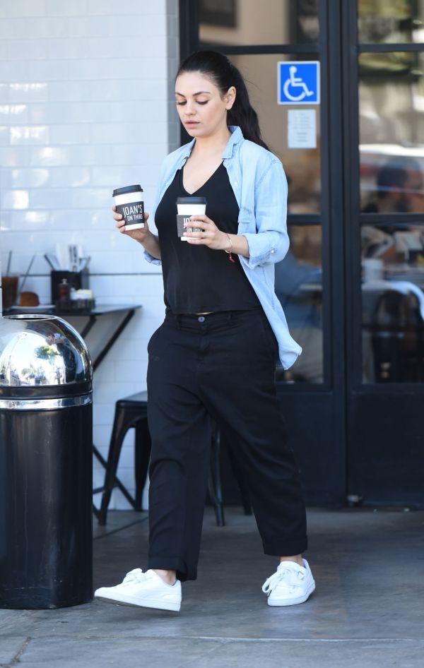 Mila Kunis Los Angeles 2017