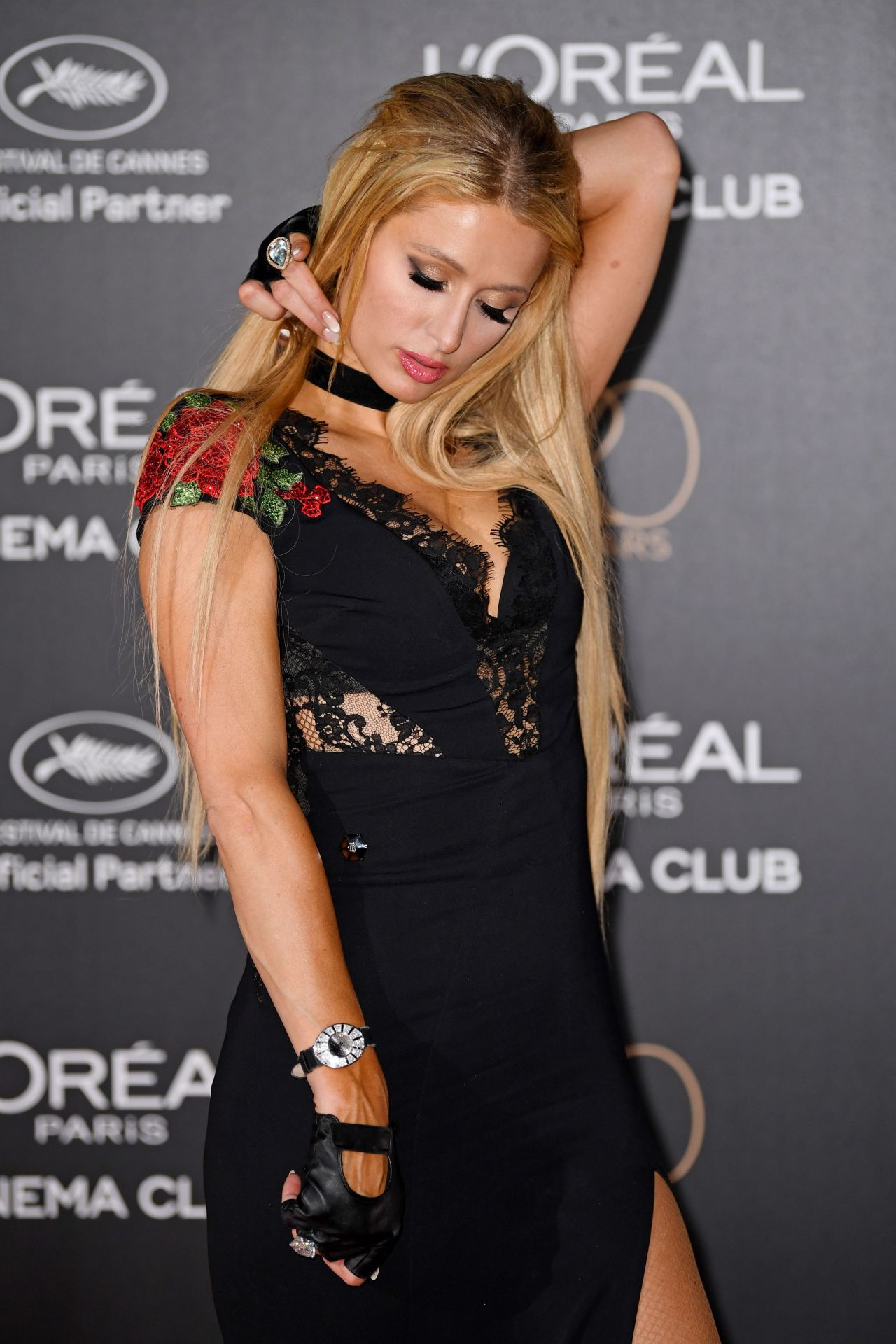 Paris Hilton At LOreal 20th Anniversary Party In Cannes