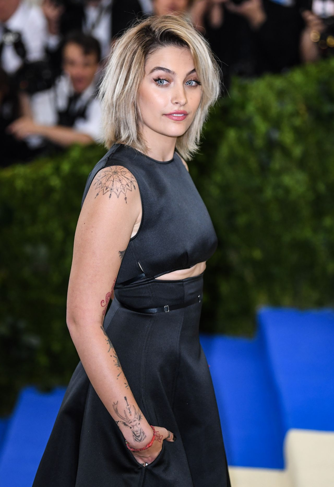 Paris Jackson at MET Gala in New York 05012017