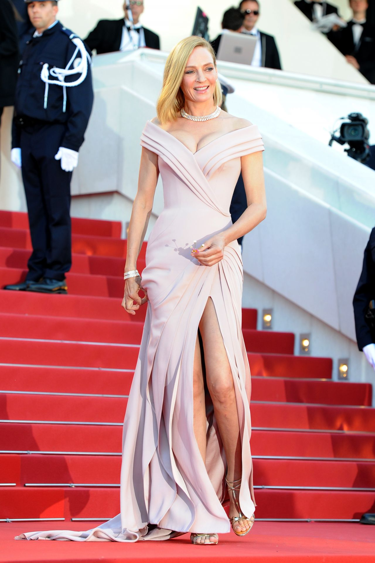 Uma Thurman  70th Cannes Film Festival Opening Ceremony 05172017