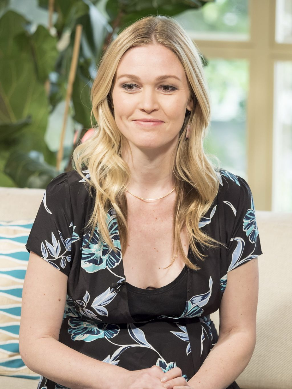 Julia Stiles Appeared On This Morning TV Show In London