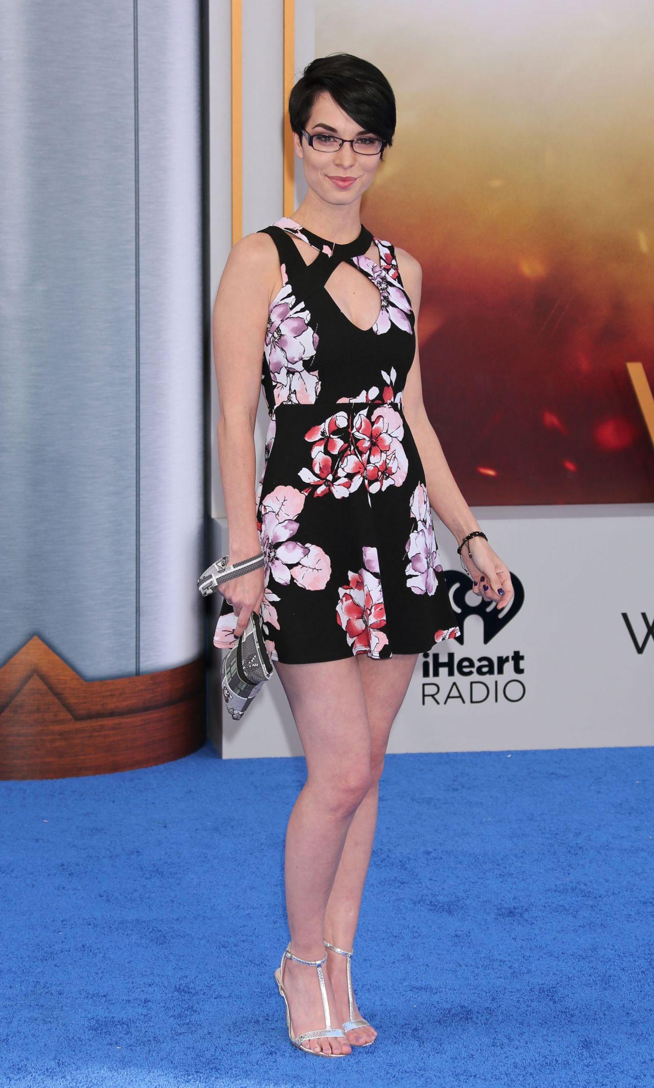 Pamela Horton Wonder Woman Movie Premiere In Los