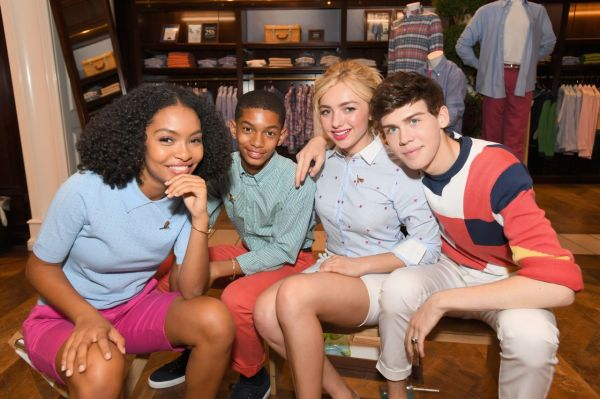 Peyton Roi List - Brooks Brothers Beverly Hills Summer Camp Party 06 03 2017