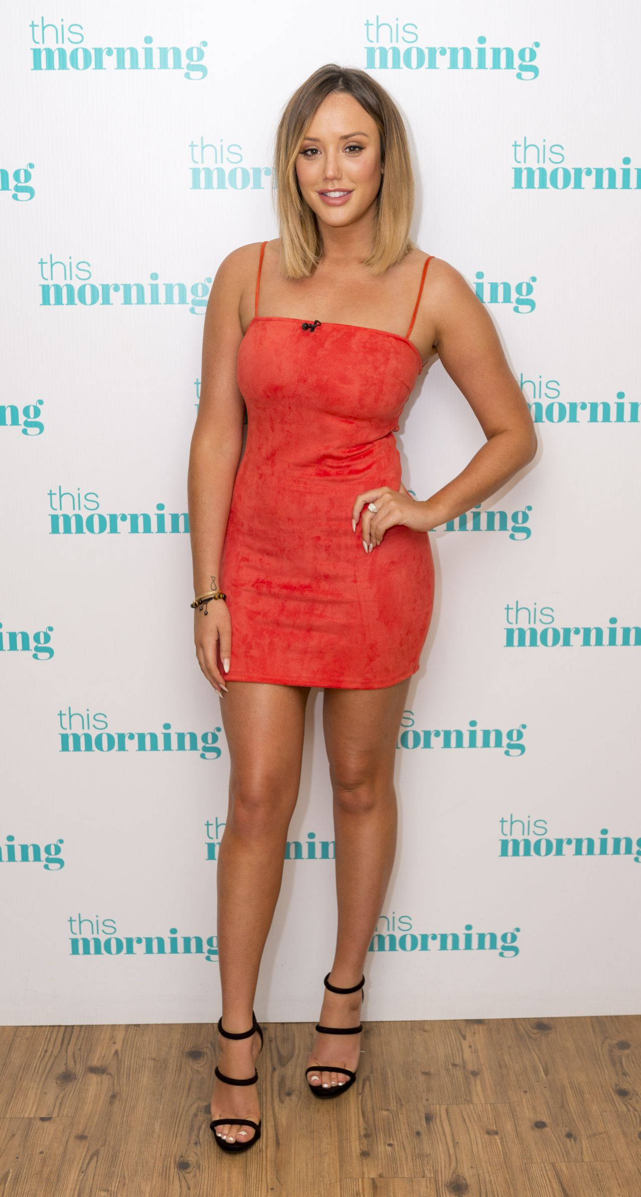Charlotte Crosby - This Morning TV Show in London 07/03/2017 • CelebMafia