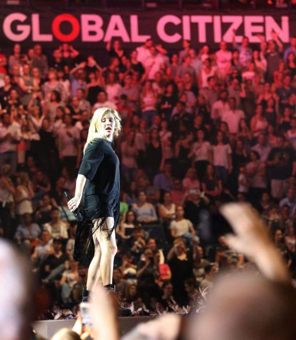 Ellie Goulding Global Citizen Festival In Hamburg