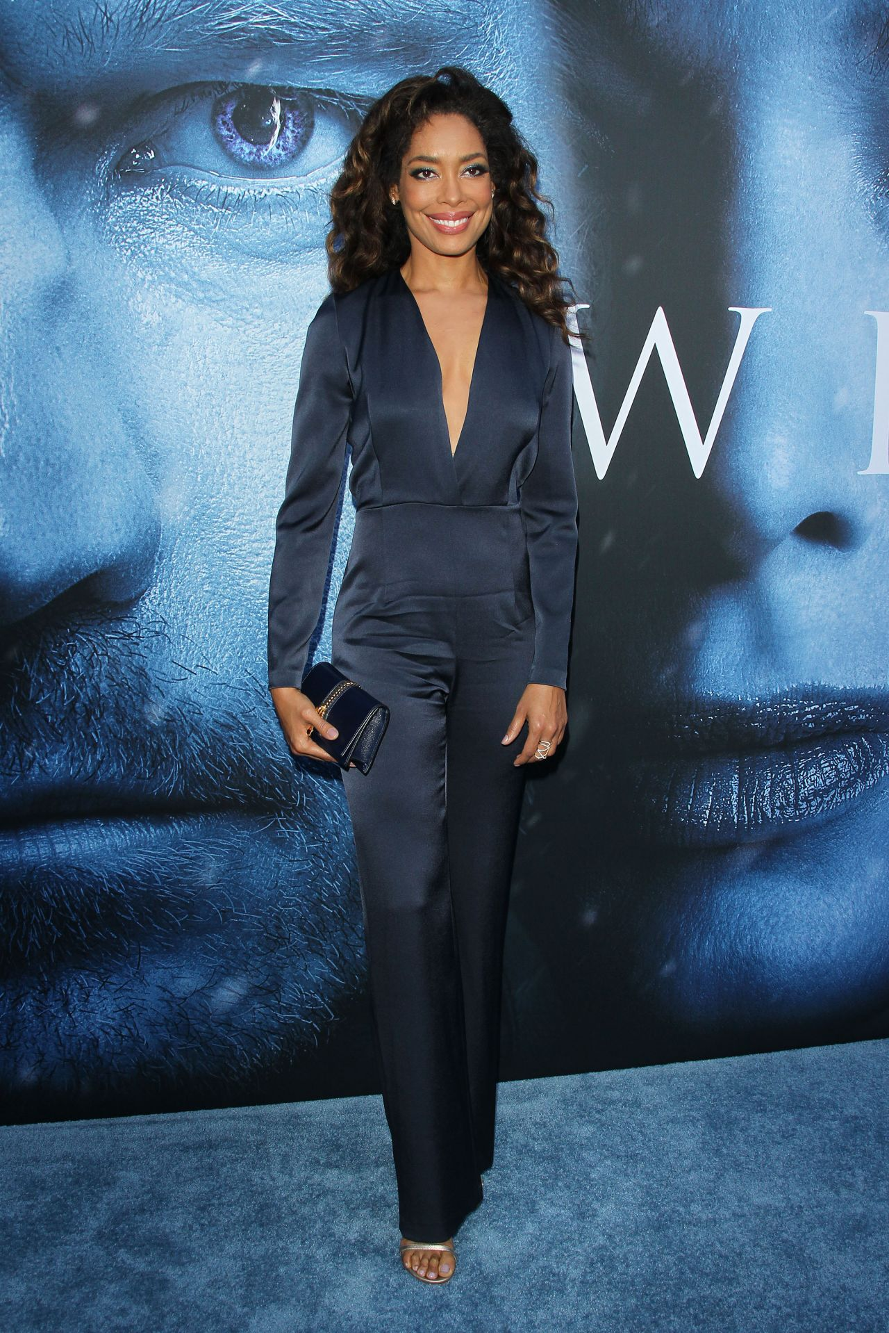 Gina Torres  Game Of Thrones Season 7 Premiere in Los Angeles 07122017