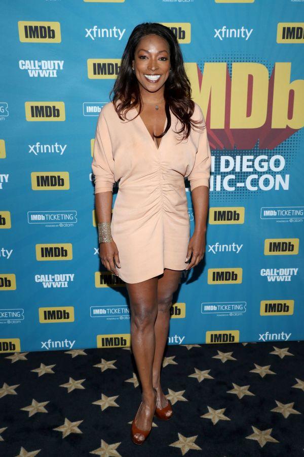 Kellita Smith #imdboat San Diego Comic- 07 20 2017