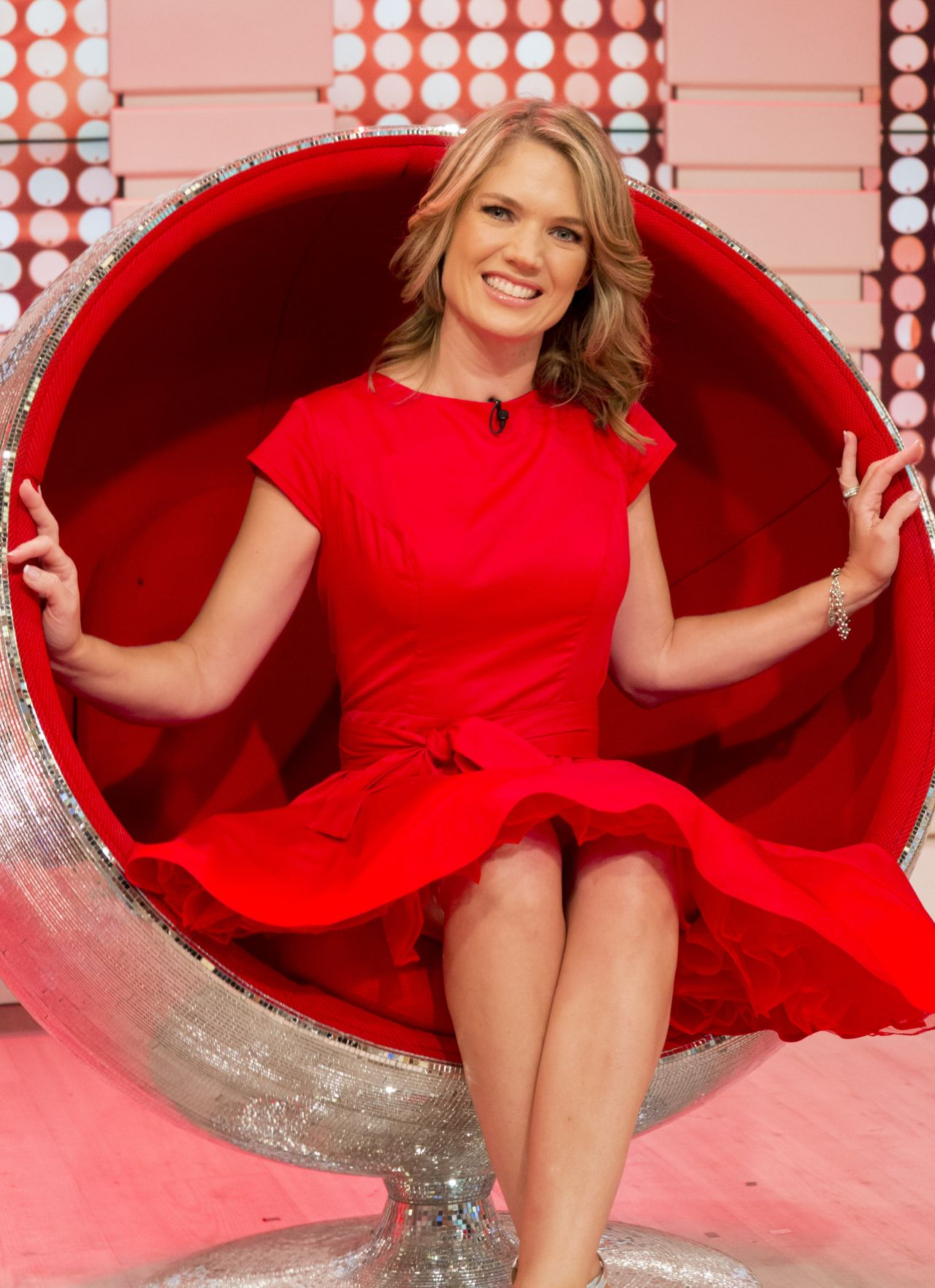 Charlotte Hawkins at This Morning TV Show in London 08212017