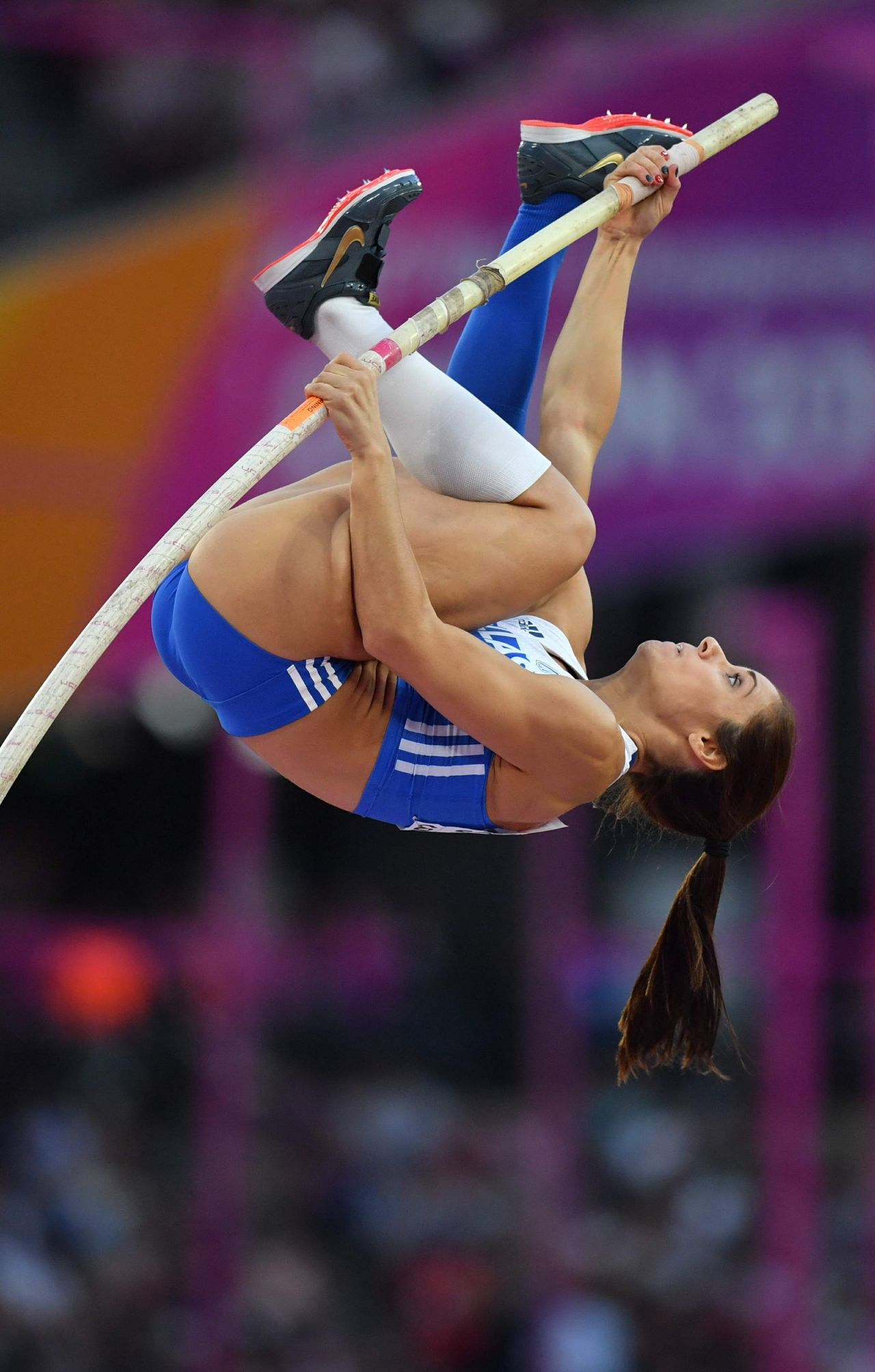 Ekaterini Stefanidi  Womens Pole Vault Final at the IAAF