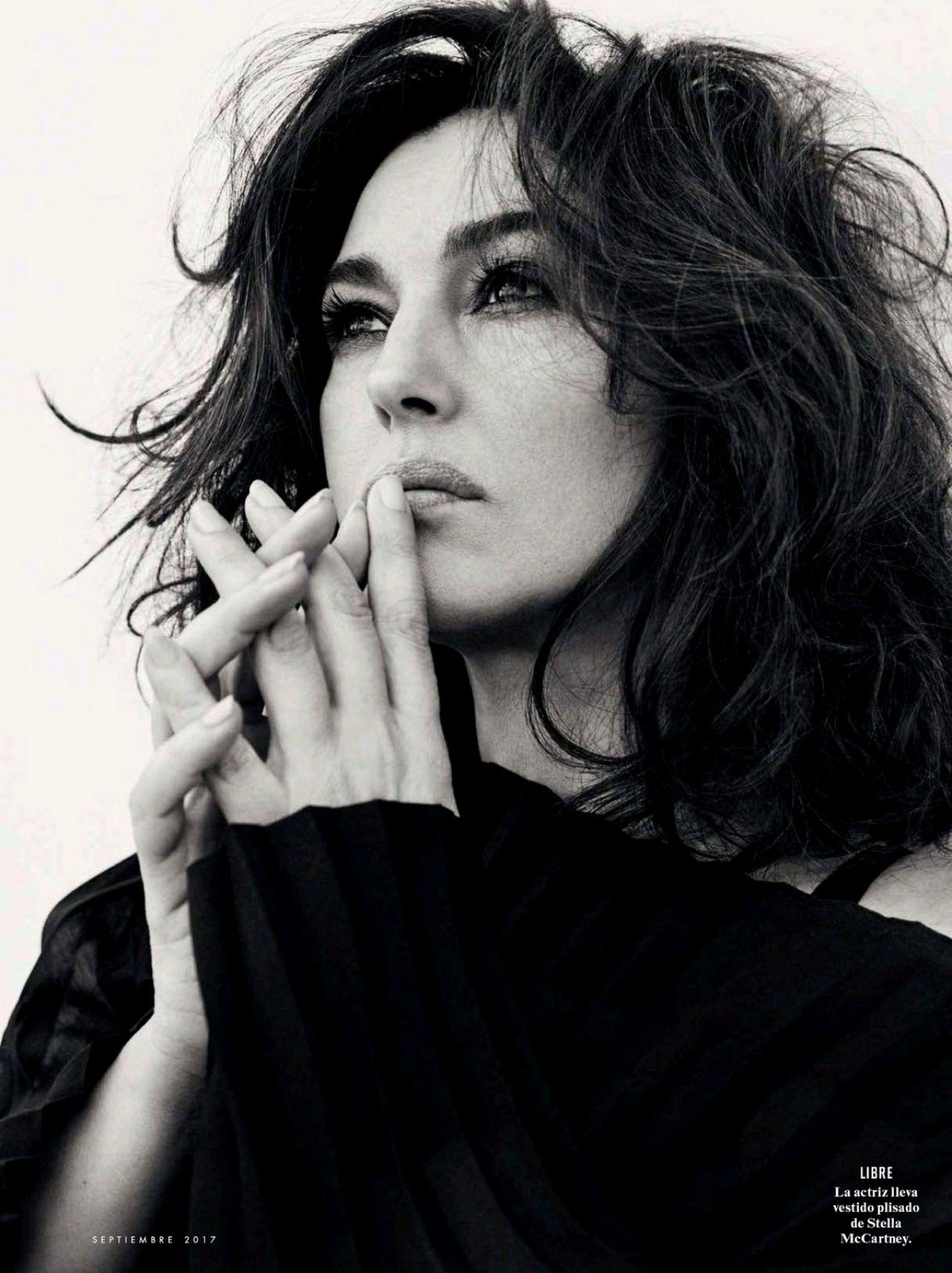 Monica Bellucci Vanity Fair Magazine Spain August 2017 Issue
