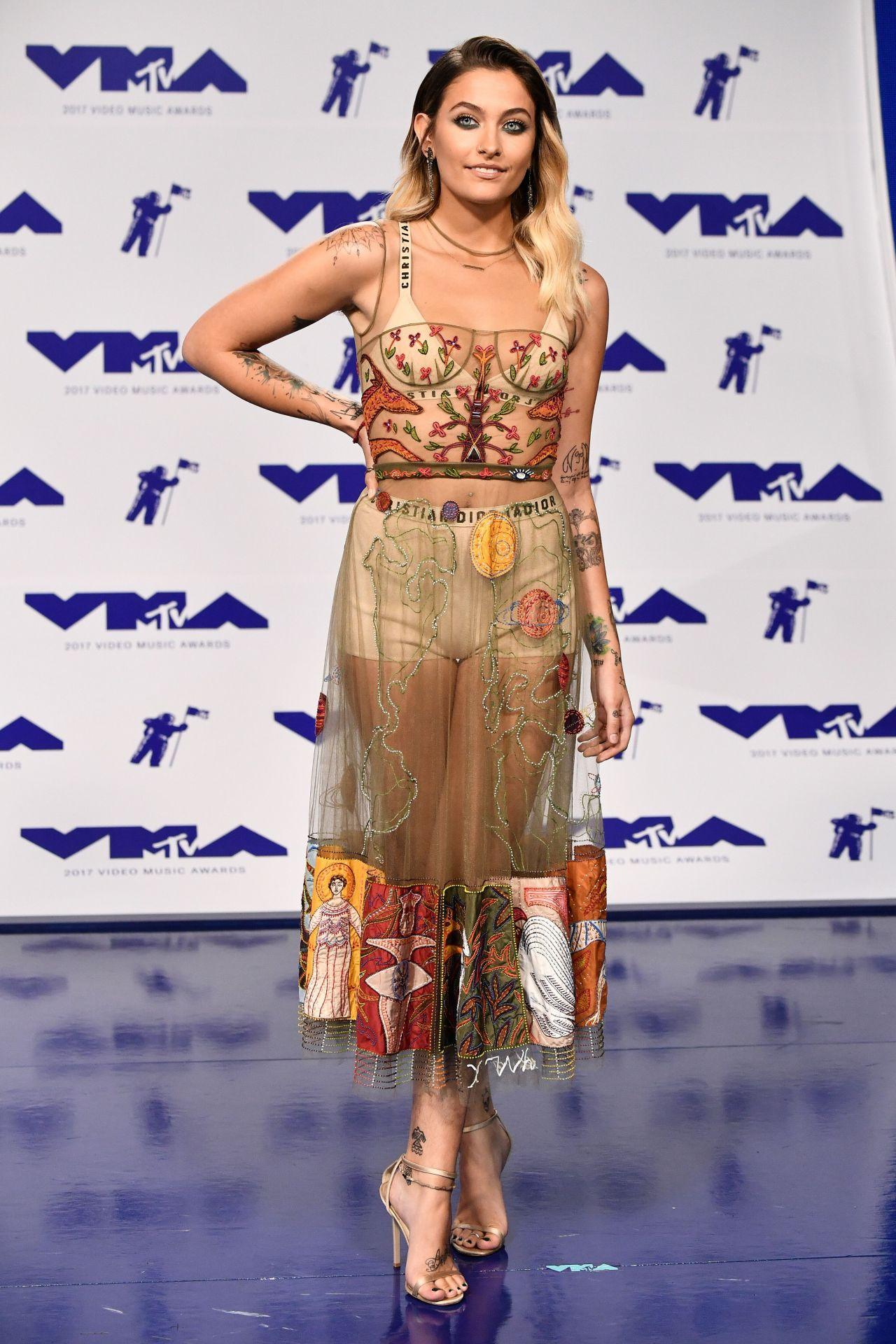 Paris Jackson  MTV Video Music Awards in Los Angeles 08272017