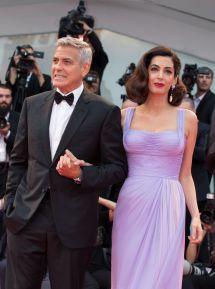 """Amal Clooney And George - """"suburbicon"""" Premiere In"""