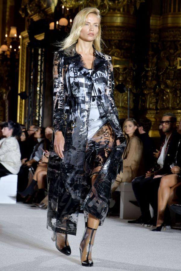 Natasha Poly - Balmain Fashion Show In Paris 09 28 2017