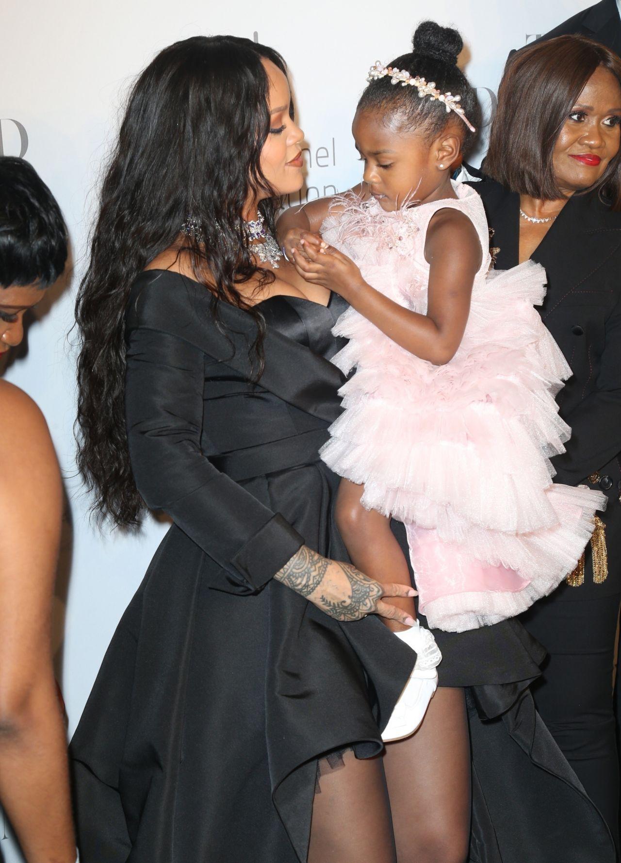 Rihanna  Her Clara Lionel Foundation Diamond Ball in NY