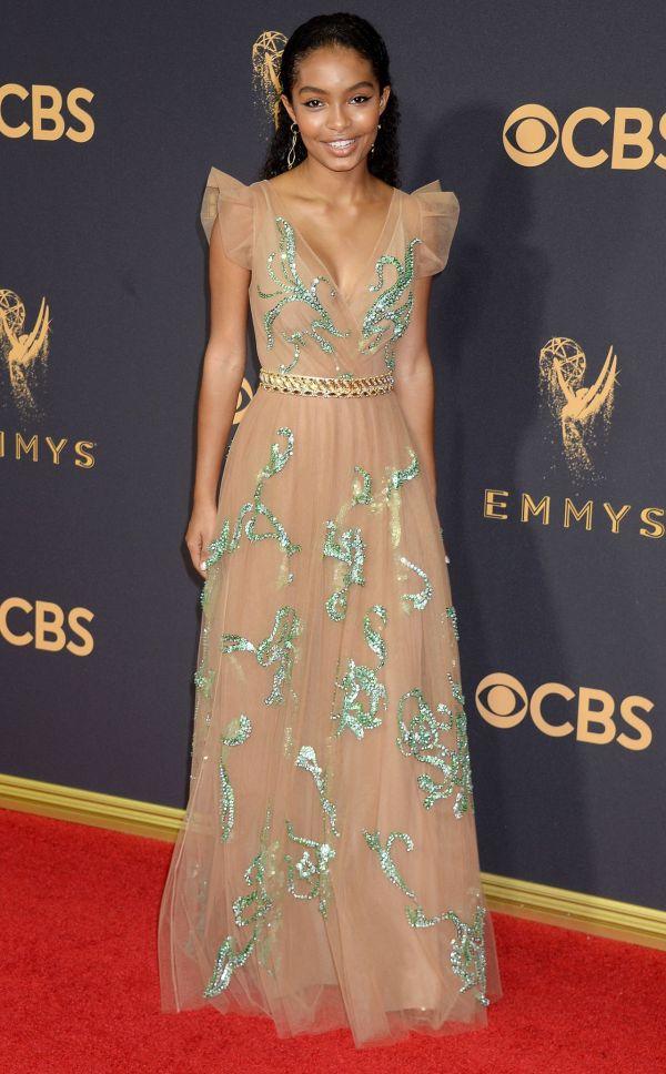 Yara Shahidi Emmy Awards In Los Angeles 09 17 2017