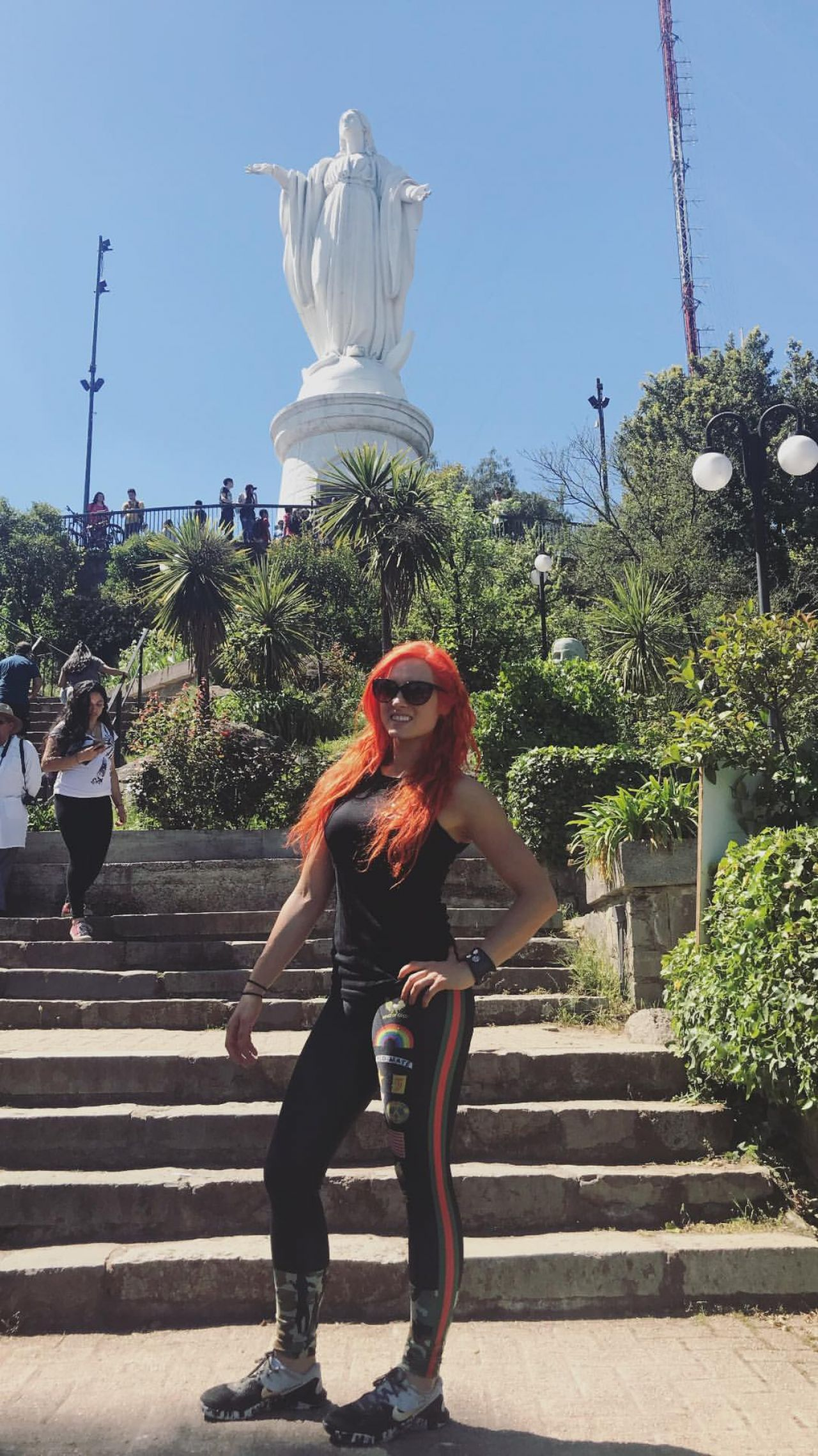 Becky Lynch  Social Media Pics October 2017