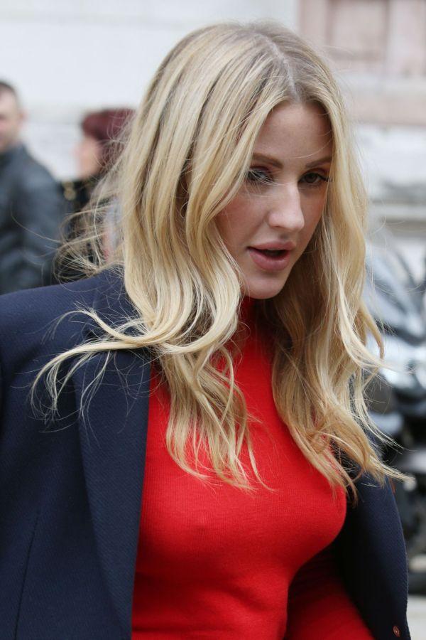 Ellie Goulding - Stella Mccartney Fashion Show Pfw In