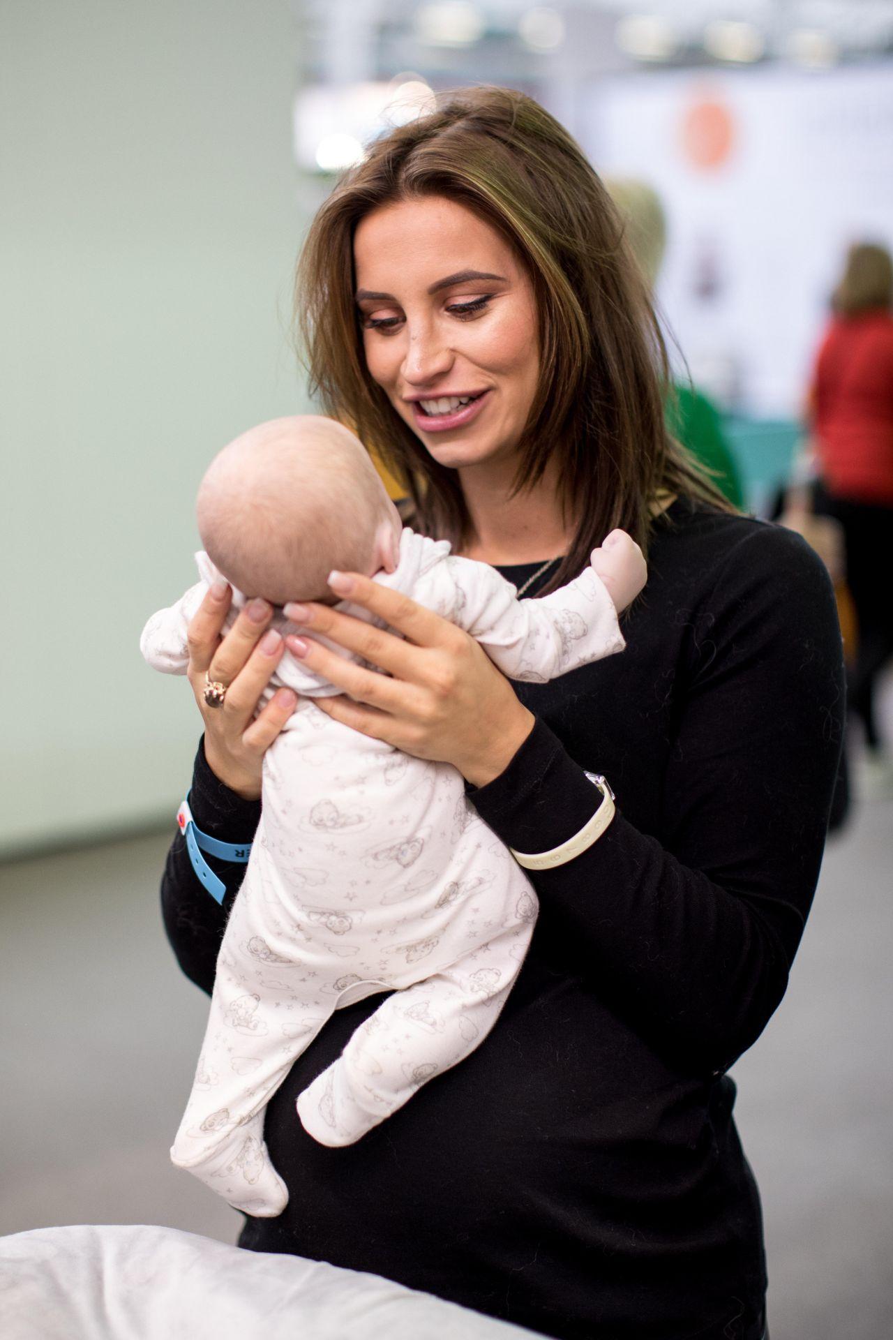 Ferne McCann  The Baby Show in London