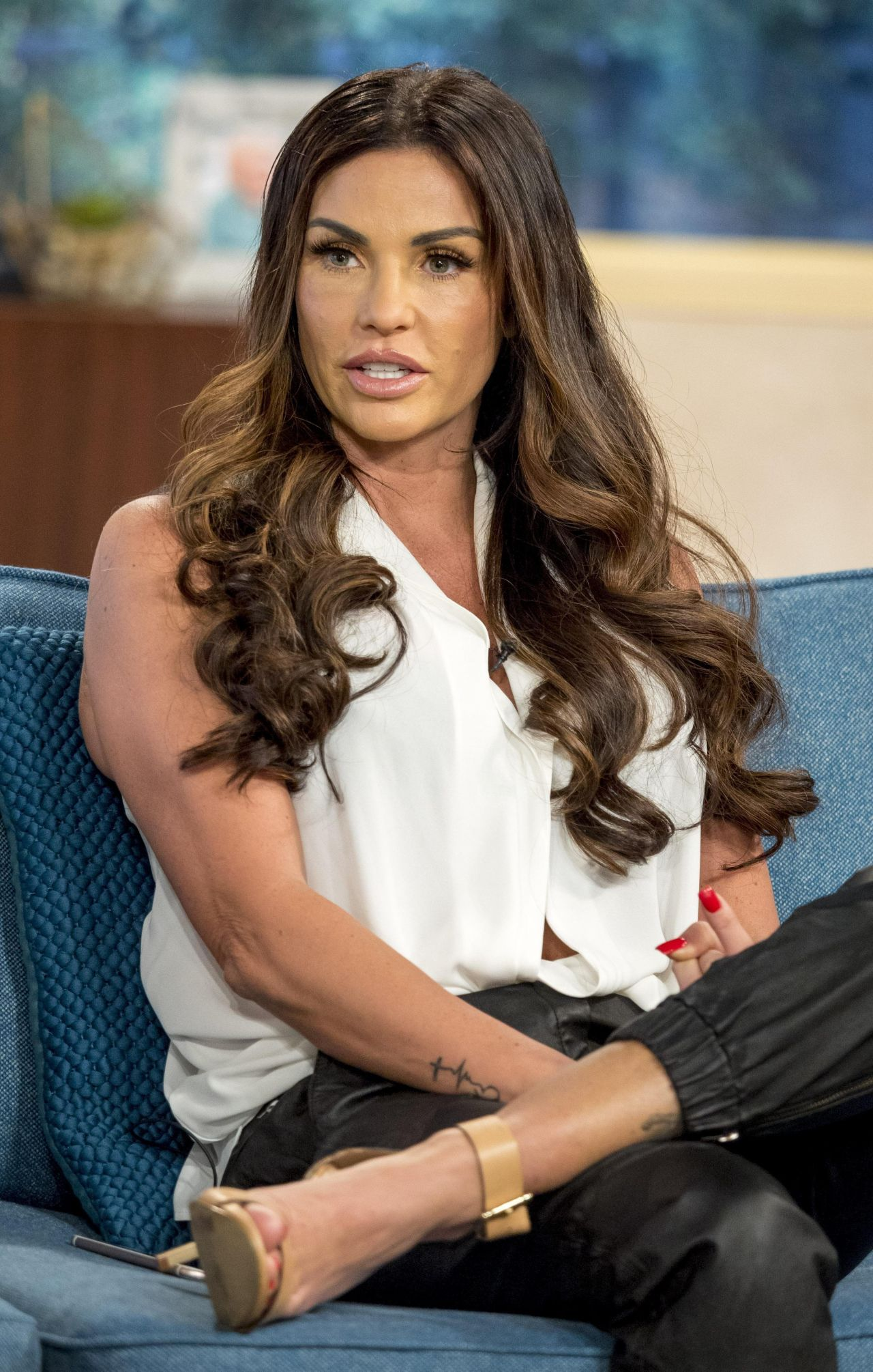 Katie Price  This Morning TV Show in London 10202017